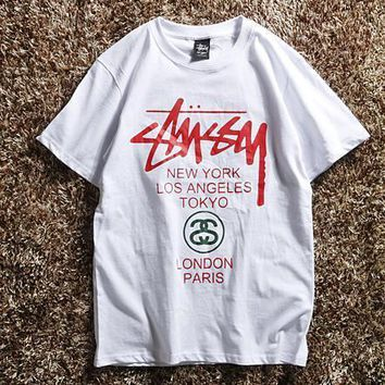 Stussy Fashion Casual Shirt Top Tee-11