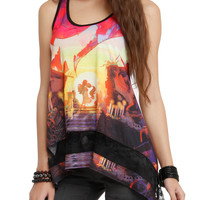 The Book Of Life Love Scene Girls Tank Top
