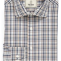 Todd Snyder White Label Trim Fit Plaid Dress Shirt,
