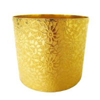 KIRA (2): Stunning Embossed Floral Cuff