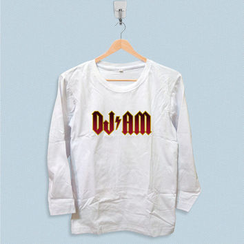 Long Sleeve T-shirt - DJ AM Logo