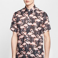 Men's MARC JACOBS Extra Trim Fit Flamingo Shirt