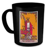 The Magician Tarot Card Coffee Cup Mug magicianmug