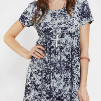 byCORPUS Acid Wash Babydoll Dress
