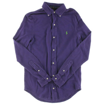 Polo Ralph Lauren Mens Mesh Cotton Polo Shirt