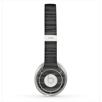 The Dark Slate Wood Skin for the Beats by Dre Solo 2 Headphones