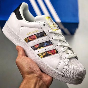Trendsetter Adidas Superstar Original  Women Fashion Casual Old Skool Shoes
