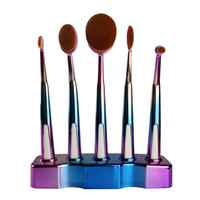 New Top Fashion As shown in figure display 5Pcs Makeup ToothBrush Cosmetic Foundation Powder Brushes Anne