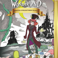 Alice in Wonderland Manga Hardcover Special Collectors Edition