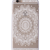 Lala Mandala iPhone Case