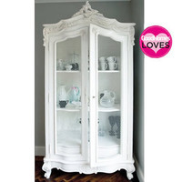 Provencal Wire Showcase  |  Armoires & Wardrobes  |  Storage  |  French Bedroom Company