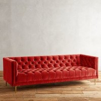 Velvet Mina Sofa by Anthropologie
