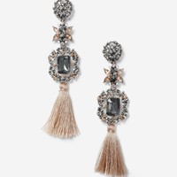 Ethnic Tassel Drop Earrings | Topshop