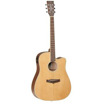 Tanglewood TW10 Solid Top Acoustic Electric Guitar