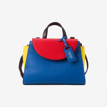Kate Spade Saturday The Four Colorblock Mini A Satchel