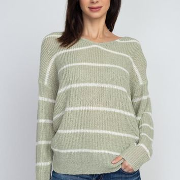 Come Back To Me Sweater - Pistachio