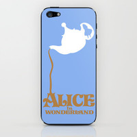 Alice in Wonderland iPhone & iPod Skin by Citron Vert