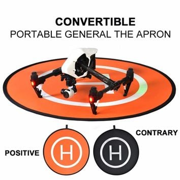 Portable Universal Practical Parking Apron RC Drone Quadcopter Fast-fold Landing Pad Parking Apron for DJI 75*75cm