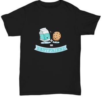Best Friend Milk And Cookies Chocolate Chip Cookie T-Shirt