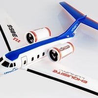 Air Earl Rc Airplane Twin Engine Ready to Fly Corporate Jet