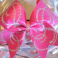 Pink Flash Cheer Bow