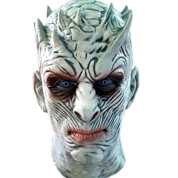 Latex Mask Adult Cosplay Game of Thrones Night's King Walker Face