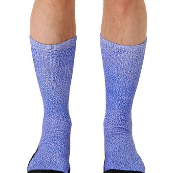 Pebble Violet Sport Socks