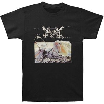 Mayhem Men's  Grand Declaration Of War T-shirt Black Rockabilia