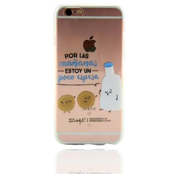 Milk and Cookies Personal Tailor Case Cover for iPhone 7 7 Plus & iPhone 5s se 6 6s Plus + Gift Box-468-170928