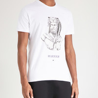 A BLACK AND WHITE STORY Hercules cotton-jersey T-shirt