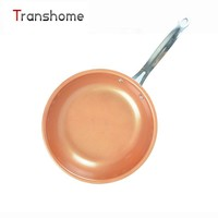 Non-stick Copper Frying Pan Copper Aluminum Frying Pan With Ceramic