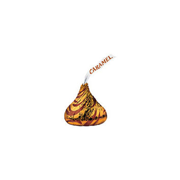 Hershey's Kisses Milk Chocolates with Caramel Filling: 100-Piece Bag