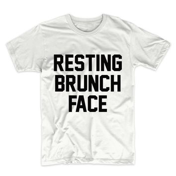 Resting Brunch Face Unisex Graphic Tee