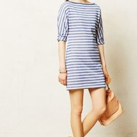 Terry Stripe Dress by Tart Blue Motif