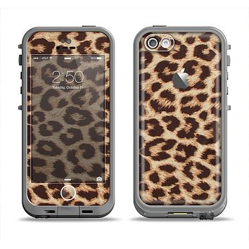 The Simple Vector Cheetah Print Apple iPhone 5c LifeProof Fre Case Skin Set