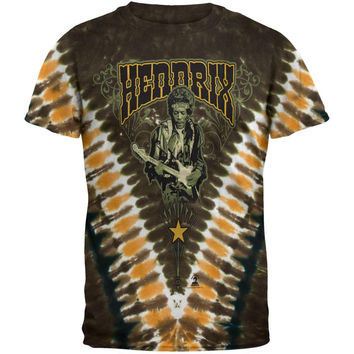 Jimi Hendrix - Kiss The Sky Tie Dye T-Shirt
