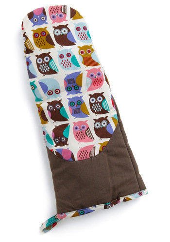 If You Can't Stand the Hoot Oven Mitt | Mod Retro Vintage Kitchen | ModCloth.com