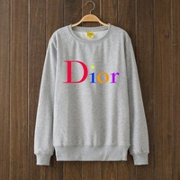 DIOR Woman Men Top Sweater Pullover-2