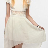 Urban Outfitters - Kimchi Blue 3D Lace Pleated Dress