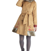 Blutsgeschwister Folk Art Long Long Sleeve Traveler's Treasure Coat