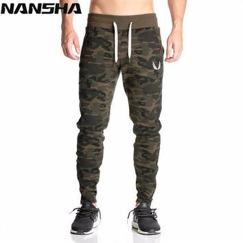 2018 Autumn New Gyms Mens Joggers Pants Fitness Casual Fashion Brand Camo Sweatpants Bottom Pants Men Casual Long Pants