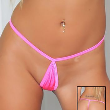 Brazilian Cut Tear Drop G String Stripper Bottoms