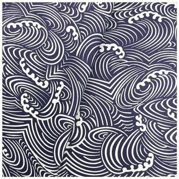 Wave Design Printed Patchwork Cotton Fabric Fat Quarter Bundle Diy Sewing Patchwork For Bags Clothes Bedding Textile