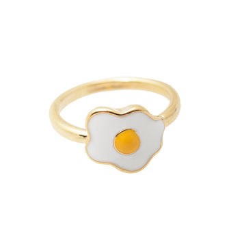 Sunny Side Egg Midi Knuckle Ring