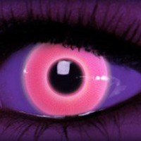 Rave Pink Theatrical Contacts by ExtremeSFX