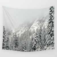 Winter Wonderland Wall Tapestry by RDelean