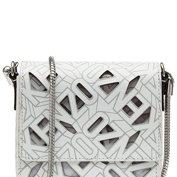 Kenzo - Printed Leather Shoulder Bag