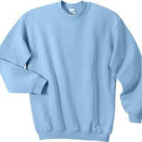 Gildan Ultra Cotton - Crewneck Sweatshirt. 9000 - X-Large - Light Blue