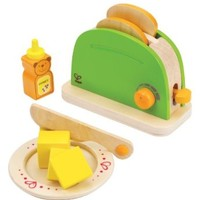 Hape - Playfully Delicious - Pop Up Toaster Play Set