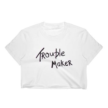 Trouble Maker Crop Top